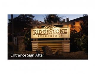 sign after