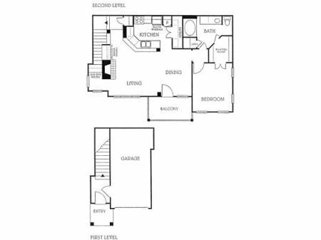 1BD 1BA 2nd Floor (A3)