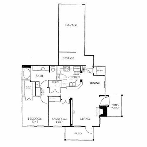 1 Bed / 1 Bath Apartment In RICHARDSON TX