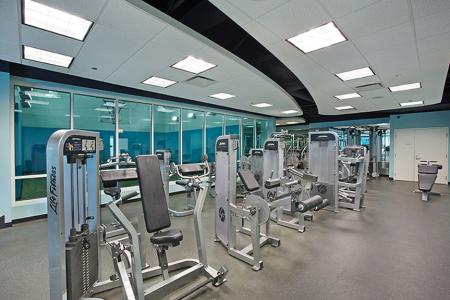 Community Fitness Center | The Streeter Luxury Apartments