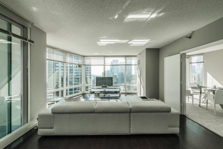 Luxurious Living Area | The Streeter Luxury Apartments
