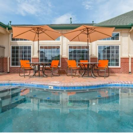 Sparkling Pool | Lincoln Apartments | The View