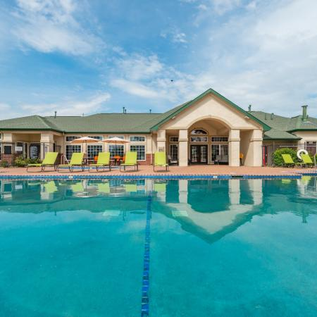 Lounging by the Pool | Lincoln Apartments | The View