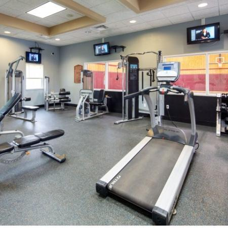 Fitness Center   Student Apartments in Mount Pleasant, MI