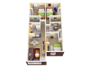 3X3 | 3 bed 3 bath | from 987 square feet