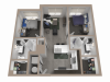 2x2 | 2 bed 2 bath | from 861 square feet
