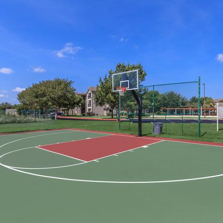 Resident Basketball Court