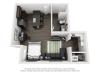 Studio | Studio1 bath | from 581 square feet
