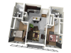 2x2   2 bed 2 bath   from 800 square feet
