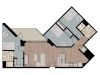 3X2L   3 bed 3 bath   from 1042 square feet