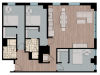 3X2XL | 3 bed 3 bath | from 1272 square feet