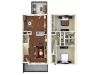 2X2.5 | 2 bed 3 bath | from 1398 square feet