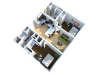 2x2   2 bed 2 bath   from 756 square feet