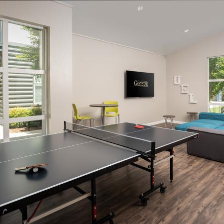 Resident Ping Pong Table