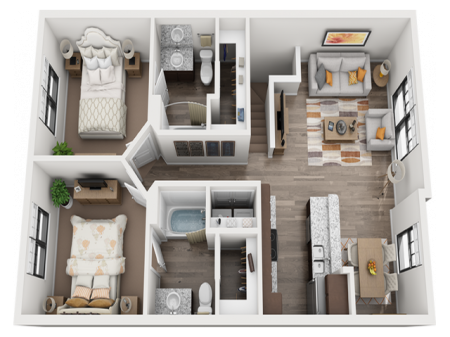 Rodeo (B2) Furnished
