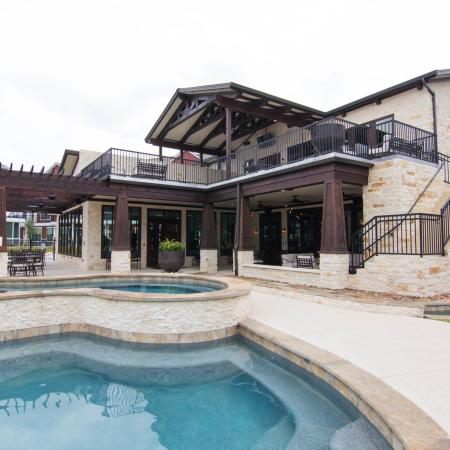 Resort Style Pool & Clubhouse Exterior