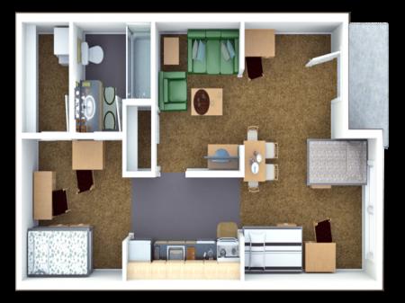 4 Bed Loft Style B