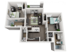 2 Bedroom 2 Bathroom B1