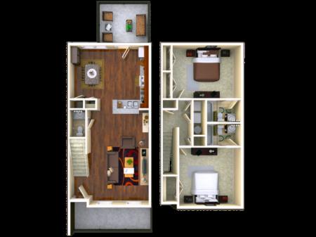 Birchmore 2 bedroom
