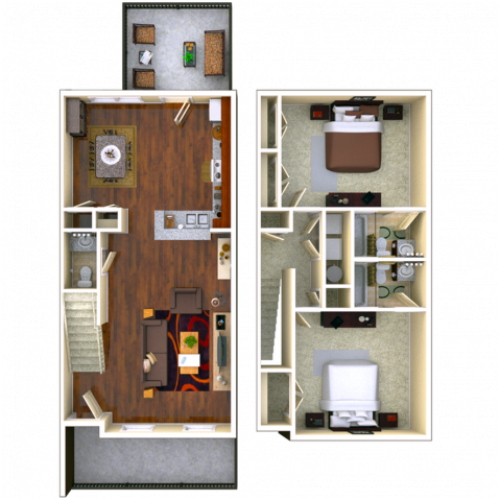 Birchmore 2 bedroom