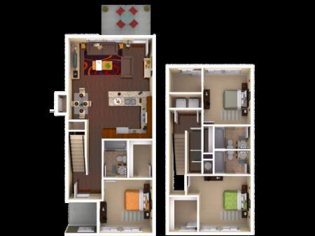 Milledge 3 Bedroom