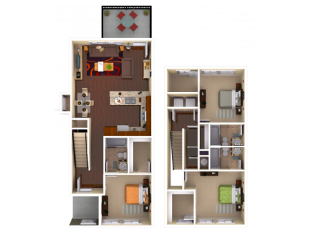 3 Bedroom / 3 Bathroom