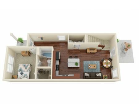 3 Bedroom / 3.5 Bathroom 1st Floor