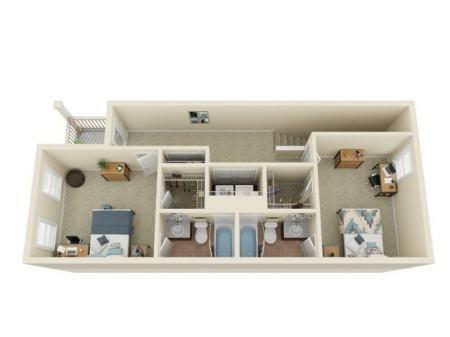 3 Bedroom / 3.5 Bathroom 2nd Floor
