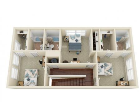 4 Bedroom / 4 Bathroom 2nd Floor