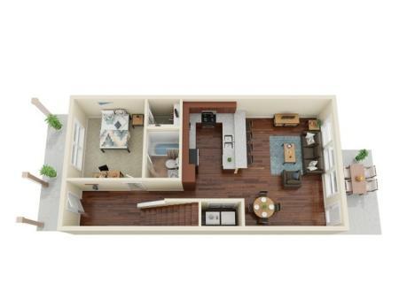 4 Bedroom / 4 Bathroom 1st Floor