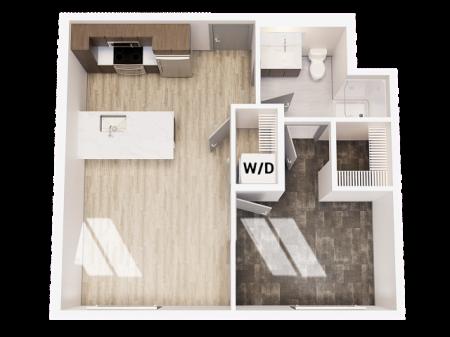 1 Bedroom 1 Bathroom A1 Unfurnished