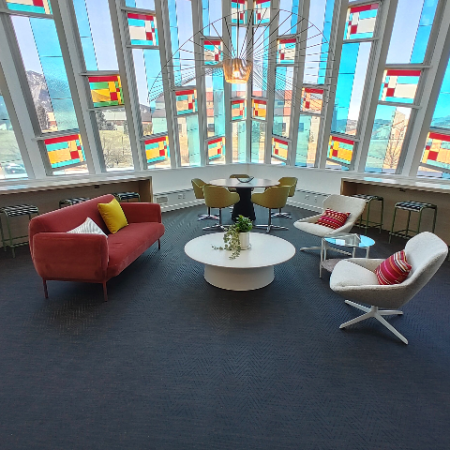 Newly Renovated Resident Lounge