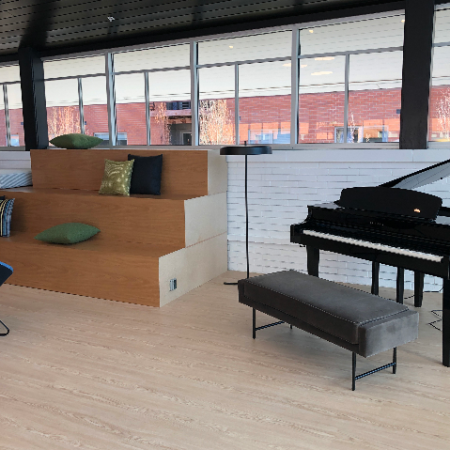 Newly Renovated Clubhouse with Piano