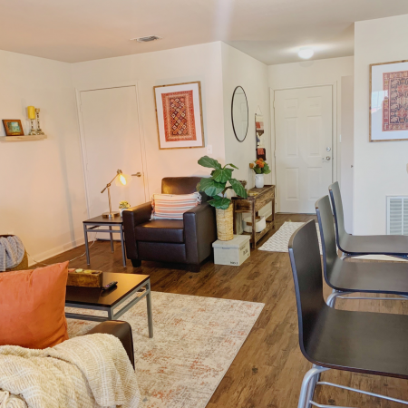 Elegant Living Area | Apartment Homes In Lincoln | The View