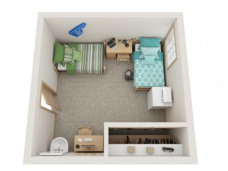 Standard 2 Person Shared Room