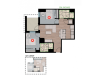 2X4D2 | 2 bed 2 bath | from 790 square feet