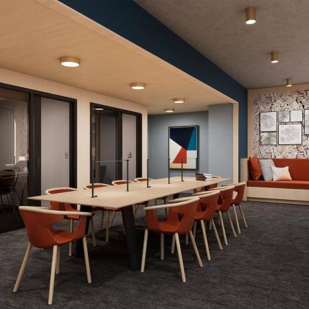 study lounge area