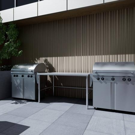 outdoor grilling areas