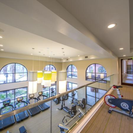 Fitness Center Aerial View