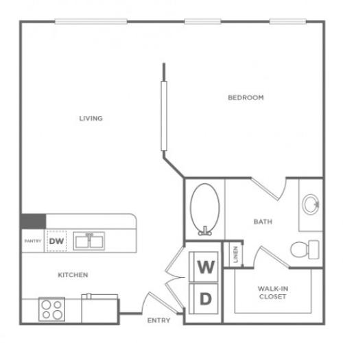 Archstone | 1 bed 1 bath | from 671 square feet