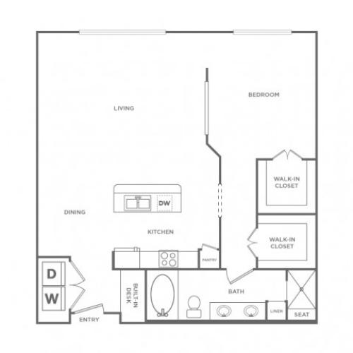 Grand Adams | 1 bed 1 bath | from 925 square feet