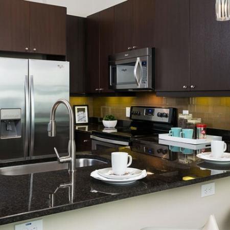 Elegant Kitchen   Apartments In Oak Lawn Dallas   4110 Fairmount