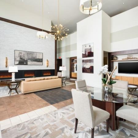 Elegant Community Club House | Oak Lawn Dallas Apartments | 4110 Fairmount 3