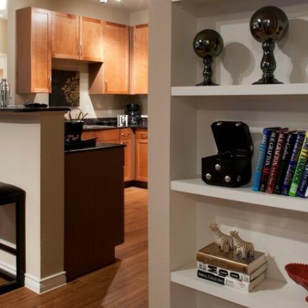 Spacious Hallway | Knox Henderson Apartments | Fitzhugh Urban Flats