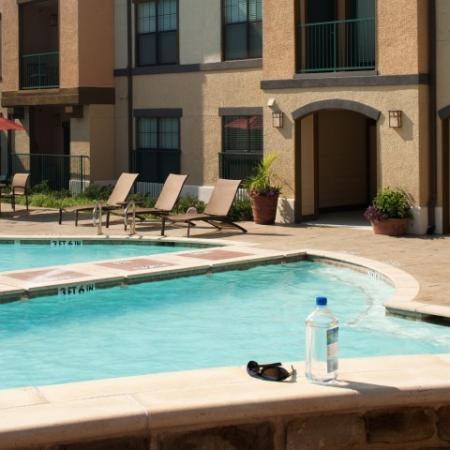 Playing in the Pool | Apartments In Knox Henderson | Fitzhugh Urban Flats