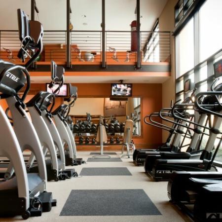Community Fitness Center | Knox Henderson Apartments | Fitzhugh Urban Flats