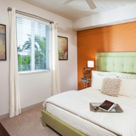 Spacious Bedroom | Delray Beach Luxury Apartments | The Franklin