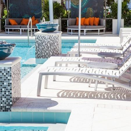 Sparkling Pool | Luxury Apartments In Delray Beach FL | The Franklin