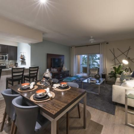Elegant Dining Room | Luxury Apartments In Delray Beach FL | The Franklin