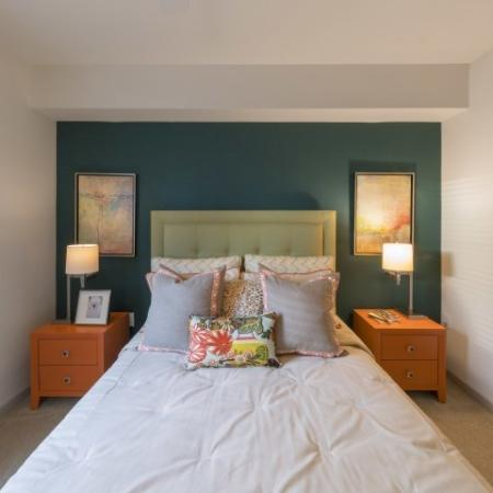 Elegant Bedroom | Delray Beach Apartments | The Franklin